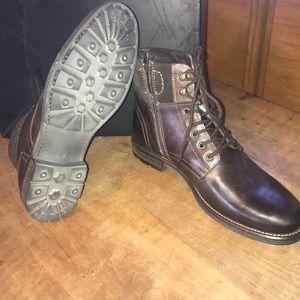 Alfani Mens Kooper Utility Boots